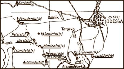Grossliebental District Odessa Russia Regional Interest Group